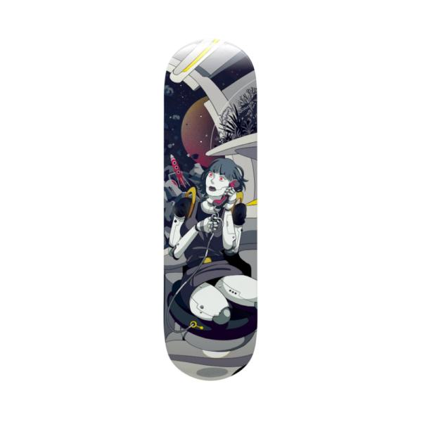 Robo Girl - Capsule Skateboards