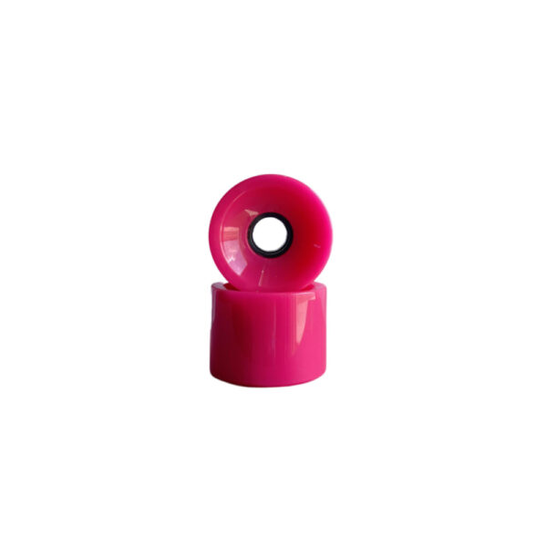 Pink longboard wheels 70mm