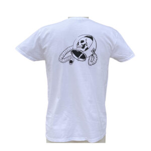 T-shirt Capsule White Black Logo back